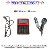 18650 Battery Charger - USA Warehouse