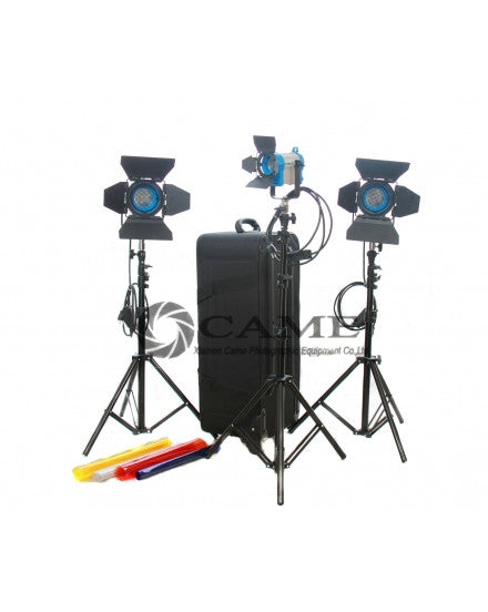 1X150W+2X300w Fresnel Tungsten Light Continuous Lighting