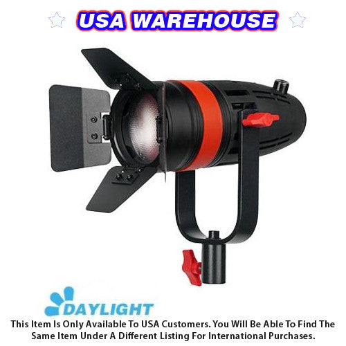 1 Pc CAME-TV Boltzen 55w Fresnel Focusable LED Daylight With Bag - USA Warehouse