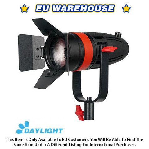 1 Pc CAME-TV Boltzen 55w Fresnel Focusable LED Daylight With Bag - European Warehouse