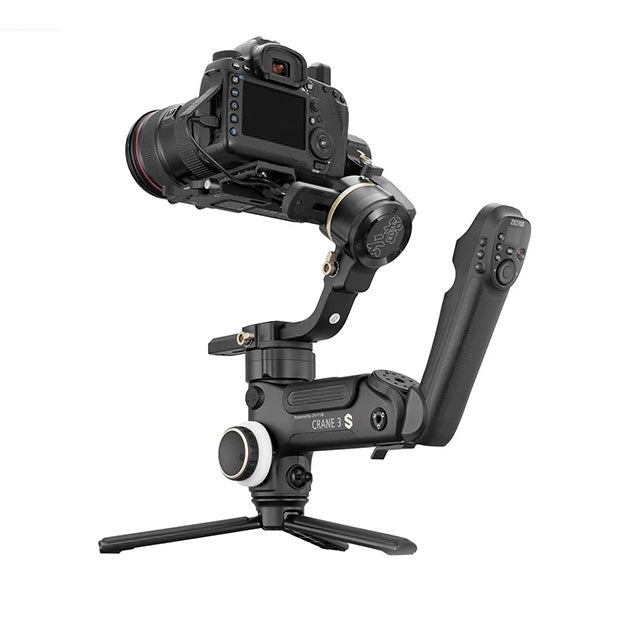 ZHIYUN Crane 3S PRO 3-Axis Gimbal Handheld Stabilizer Support 6.5KG DSLR Camera Camcorder Video Cameras