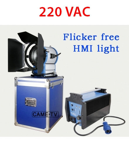 220V CAME-TV 2500W HMI Fresnel Light +2.54KW Electronic Ballast