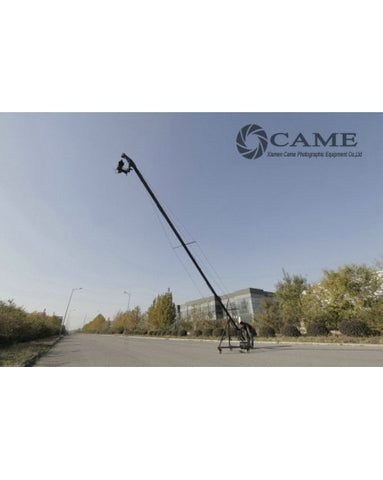 29.5ft Pan Tilt Head 10 Kilo Camera Jib Arm Crane LCD Tripod Kit