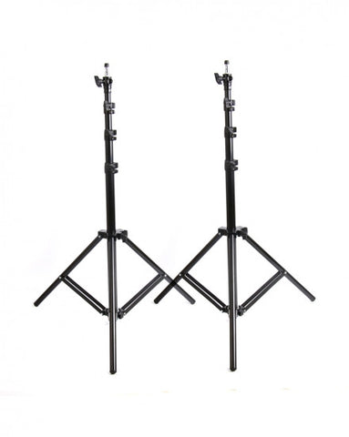 2 X Light Stands Max Work 2.4m Air-cushion
