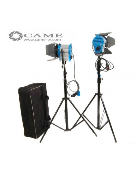 2pcs 650W Tungsten Fresnel Lights Video Spot Film Light