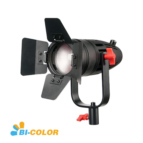 1 Pc CAME-TV Boltzen 30w Fresnel Fanless Focusable LED Bi-Color With Bag