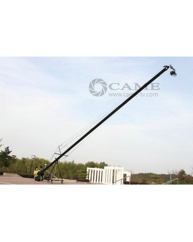 32.8ft Pan Tilt Head 10 Kilo Camera Crane Jib Arm Video LCD Kit