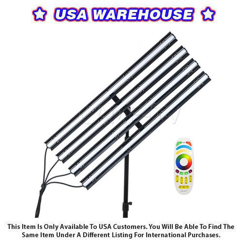 Boltzen Andromeda Slim Tube LED Light 4 Lights Kit 3FT (RGBDT) - USA Warehouse
