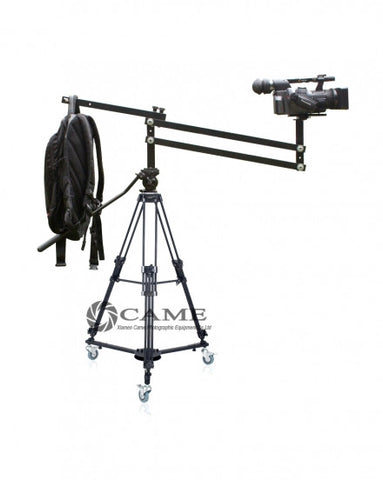 4.2 Foot Mini Video Camera Crane Jib Arm Portable Pan Tilt Crane