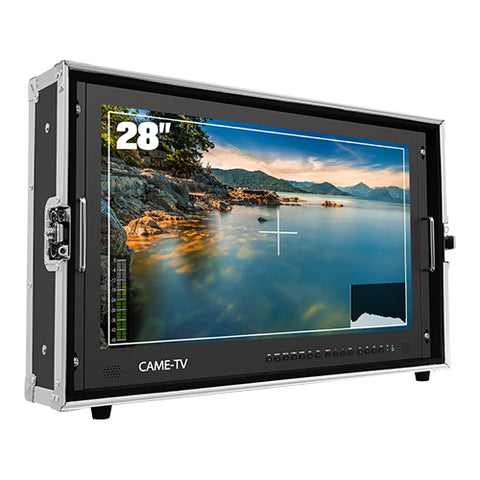 CAME-TV 4K HDMI Carry-on Broadcast Monitor with SDI, HDR and 3D LUTS (3 Sizes)