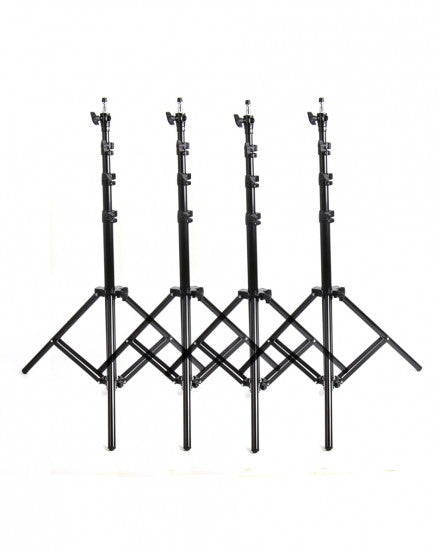 4 X Light Stands Max Work 2.4m Air-cushion