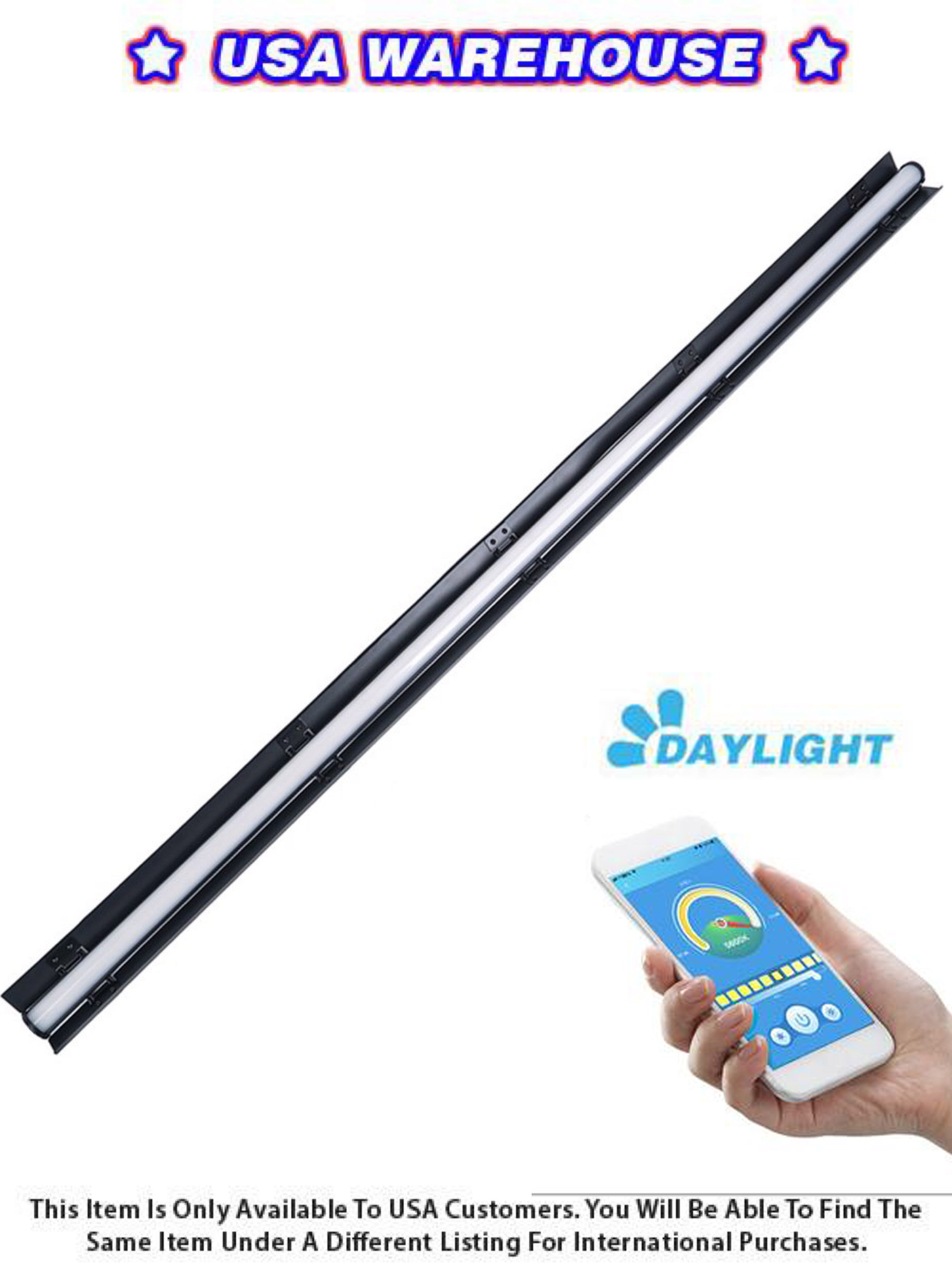 Boltzen Andromeda Slim Tube LED Light 4FT (Daylight) - USA Warehouse
