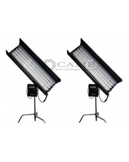 4ft 4bank SELECT 2 Kits X 300W Fluorescent Light + E-Ballast