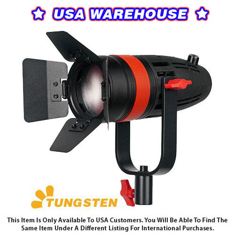 1 Pc CAME-TV Boltzen 55w Fresnel Focusable LED Tungsten With Bag - USA Warehouse