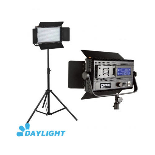 576 LED Light Dimmable Daylight 5600K Digital Display V Mount