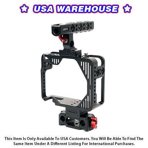 CAME-TV Protective Cage For 5D2, 5D3, 5D4 Camera Rig With Handle - USA Warehouse