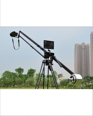 8ft Fluid Pan Head Camera Crane Jibs Jib Arm Crane For Video