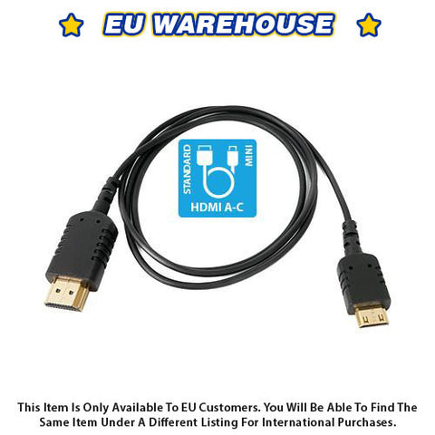 CAME-TV 3 Foot Ultra-Thin and Flexible HDMI Cable AC - European Warehouse