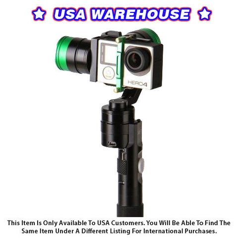 CAME-Action Gimbal 3 Axis for Gopro 32 Bit Boards with Encoders - USA Warehouse