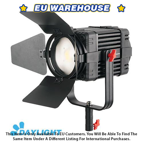1 Pc CAME-TV Boltzen 100w Fresnel Fanless Focusable LED Daylight - European Warehouse