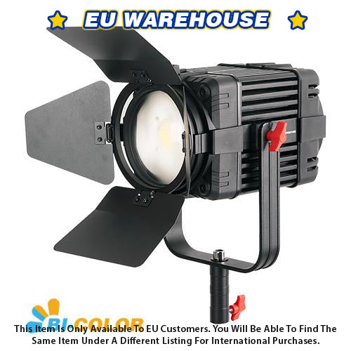 1 Pc CAME-TV Boltzen 100w Fresnel Fanless Focusable LED Bi-Color - European Warehouse