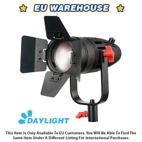 1 Pc CAME-TV Boltzen 30w Fresnel Fanless Focusable LED Daylight With Bag - European Warehouse