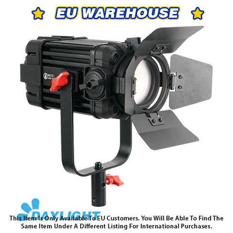 1 Pc CAME-TV Boltzen 60w Fresnel Fanless Focusable LED Daylight - European Warehouse