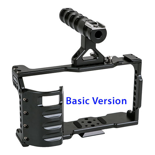 CAME-TV BMPCC 4K Cage With Grip For BlackMagic Pocket Cinema Camera