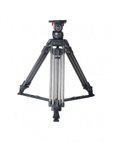 CAME-18T PRO Carbon Fiber Fluid Head Tripod For URSA FS7 Etc.