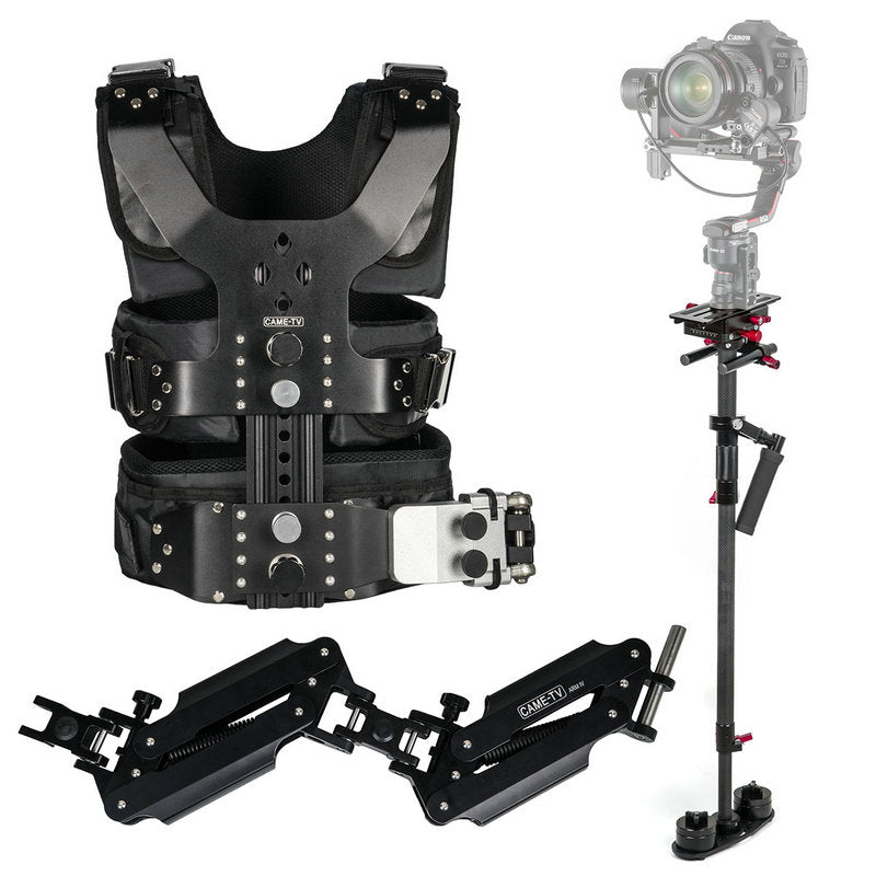 CAME-TV 2-8kg Load Pro Camera Video Stabilizer Kit