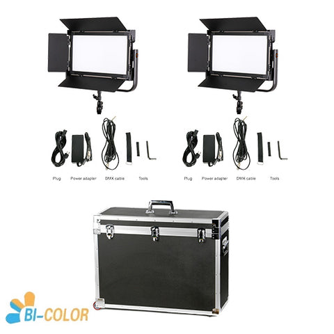 CAME-TV 1380 LED Light Bi-Color (2 Piece Set)