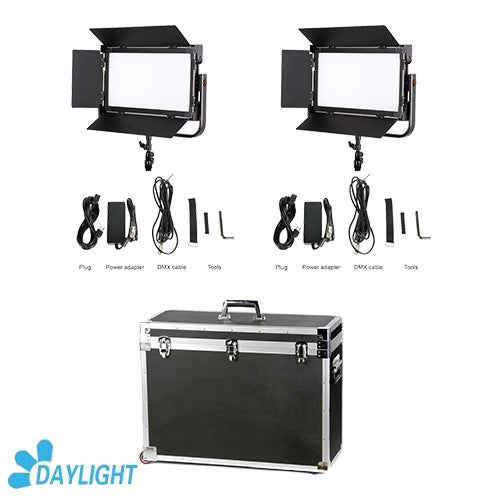 CAME-TV 1380 LED Light Daylight (2 Piece Set)