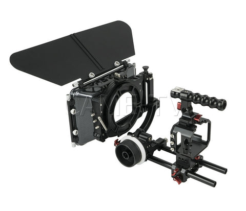BMMCC-PACK CAME-TV Cage for Blackmagic Micro Cinema Camera