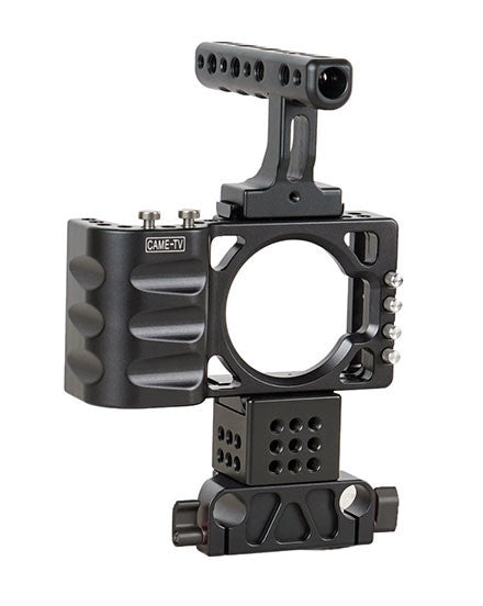 CAME-TV BMPCC Rig For BlackMagic Pocket Cinema Cameras 15mm Rail