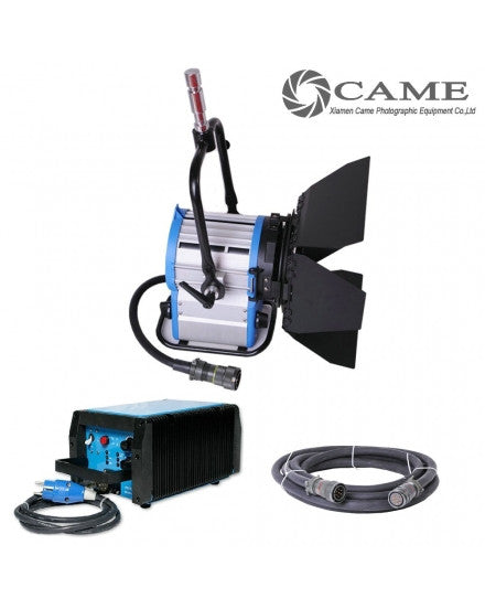 CAME-TV Compact 575W HMI Fresnel Light + Electronic Ballast