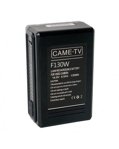 CAME-TV Compact V-Mount Li-Ion Battery 130Wh