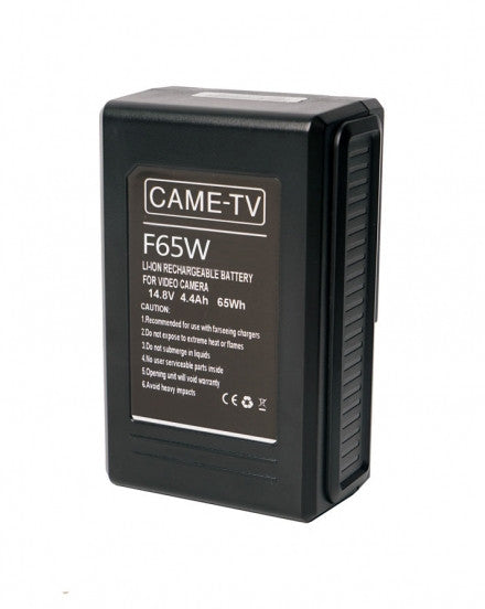 CAME-TV Compact V-Mount Li-Ion Battery 65Wh
