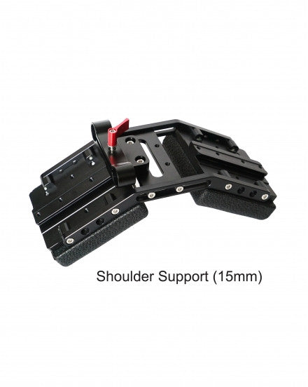 CAME-TV DSLR Shoulder Support For 15mm Rod System