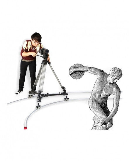 CAME-TV Dolly And Track Straight Rail And Curved Rail JX300B