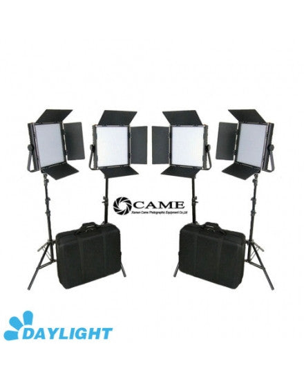 CAME-TV High CRI 4 X 1024 LED Video Panel Broadcast 5600K Lights
