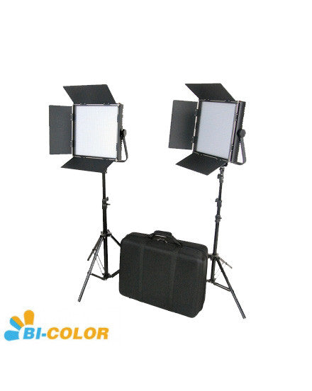 CAME-TV High CRI Bi-Color 2 X 1024 LED Video LightsTV Lighting