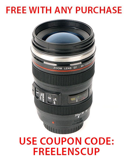 CAME-TV Lens Cup - Free With Any Purchase