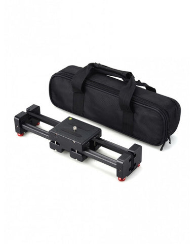 CAME-TV Portable Mini 37.5cm Load 5 Kilo DSLR DV Video Slider