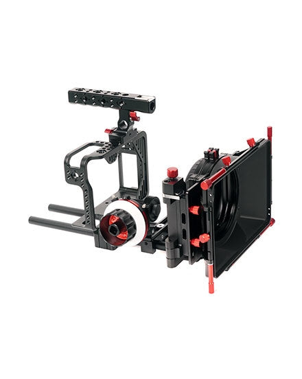 CAME-TV Protective Cage For Canon 5D W Mattebox Follow Focus