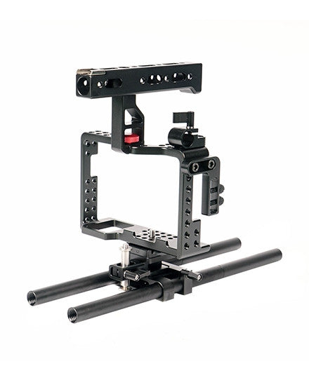 CAME-TV Sony A7RII A7sII A7RIII A7sIII A9 Camera Rig 15mm Rod System