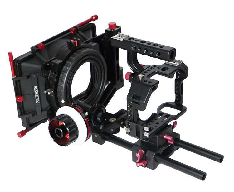 CAME-TV Sony A7S Rigs W/ Mattebox Follow Focus