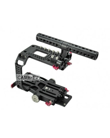CAME-TV Sony PXW FS7 Rig Include Cage Handle Baseplate