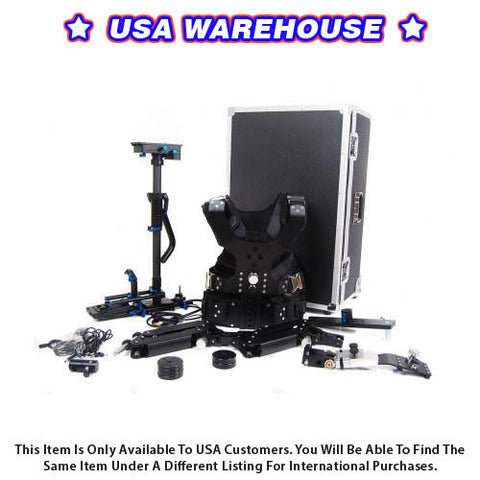 CAME 2.5-15kg Load Pro Camera Steadicam With Aluminum Case - USA Warehouse