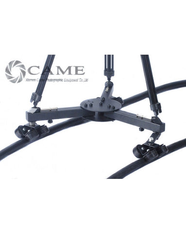 Camera Heavy Video Slider Tripod Dolly Track Wheels Moving Car
