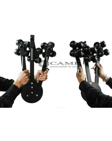Camera Video Slider Tripod Dolly Tracking Wheels Moving Car